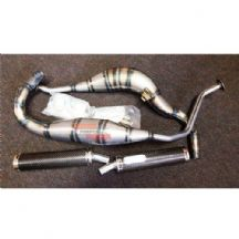 Suzuki RGV250 1991 - 199 Arrow Performance Race Exhaust System - Carbon